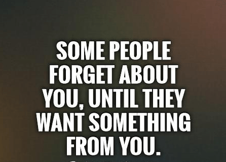 Some People Forget About You