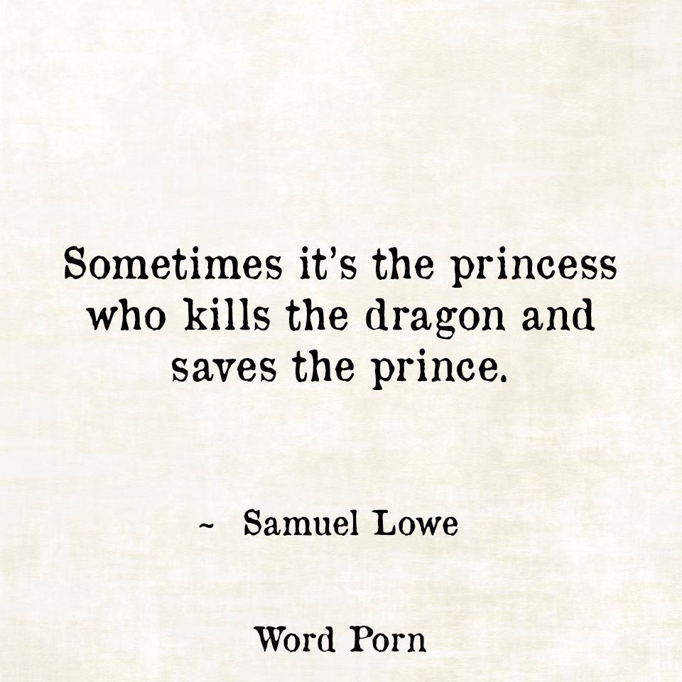 Sometimes It's The Princess