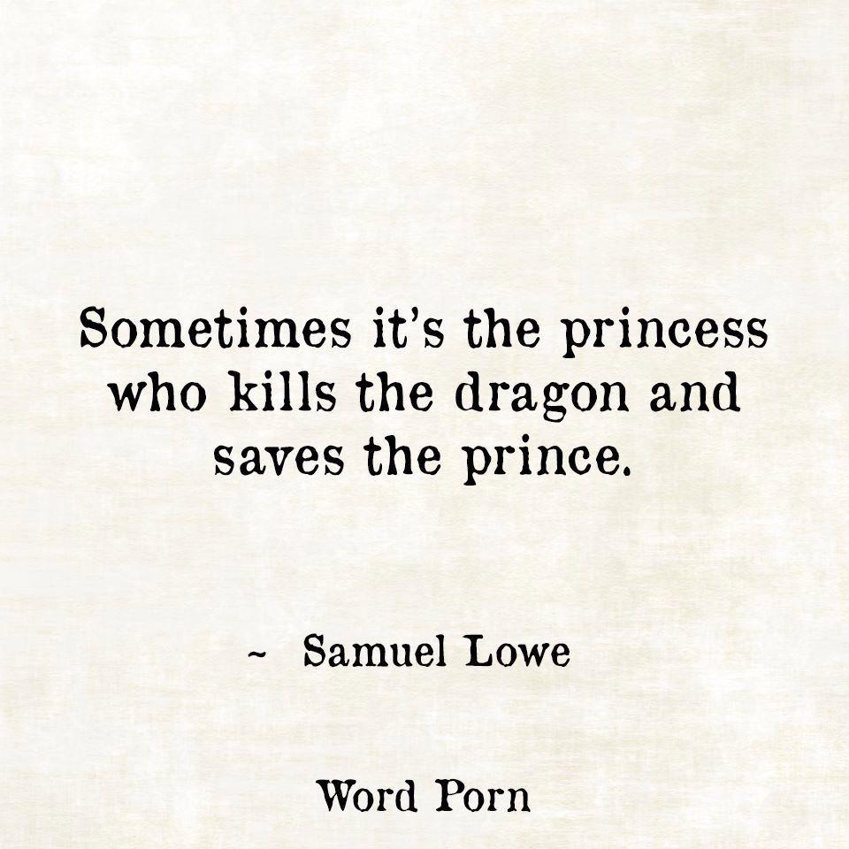 Sometimes It's The Princess