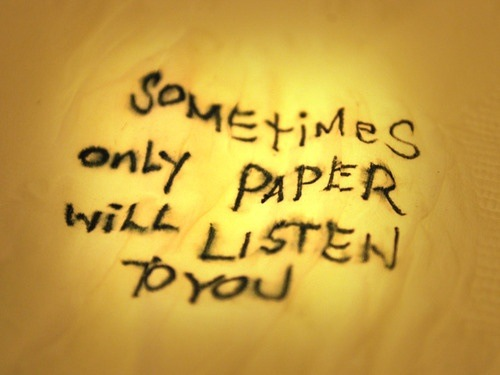 Sometimes Only Paper
