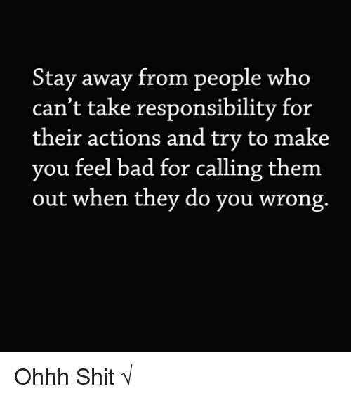 Stay Away From People