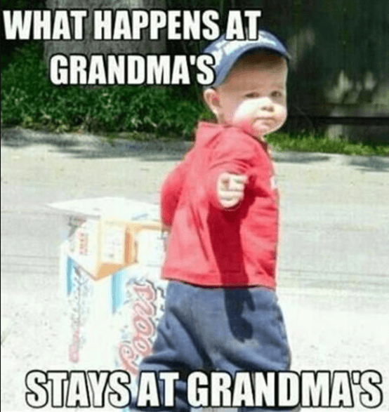Stays at Grandma's