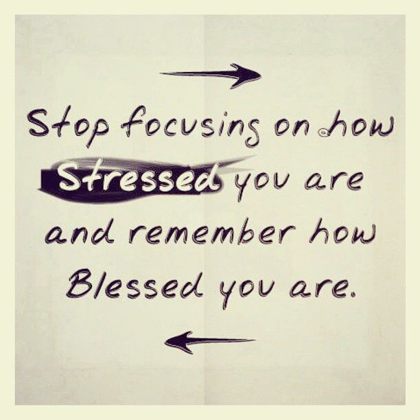 Stop Focusing On How