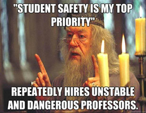Student safety is my top priority..