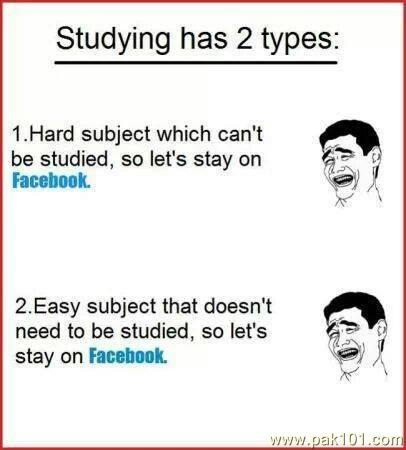 Studying has 2 types