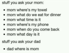 Stuff You Ask Your Mom