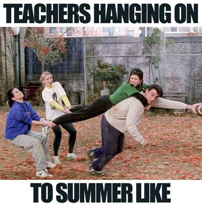 Teachers Hanging On