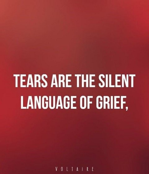 Tears Are The silent