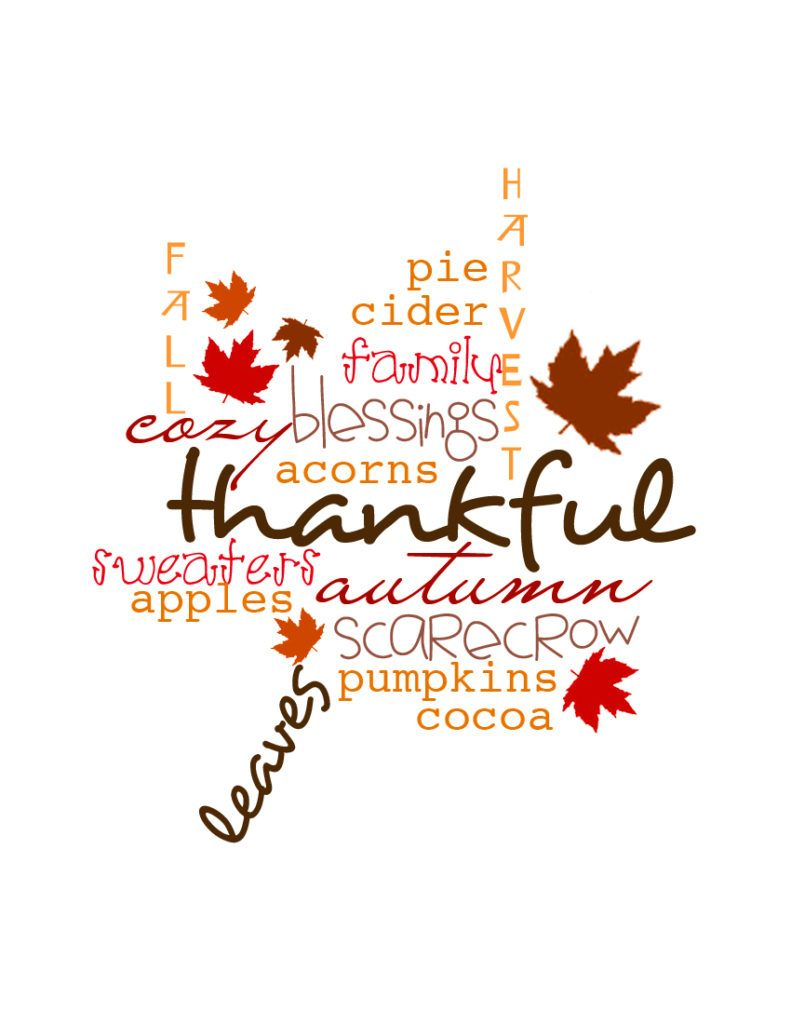 Thankful Family Blessings