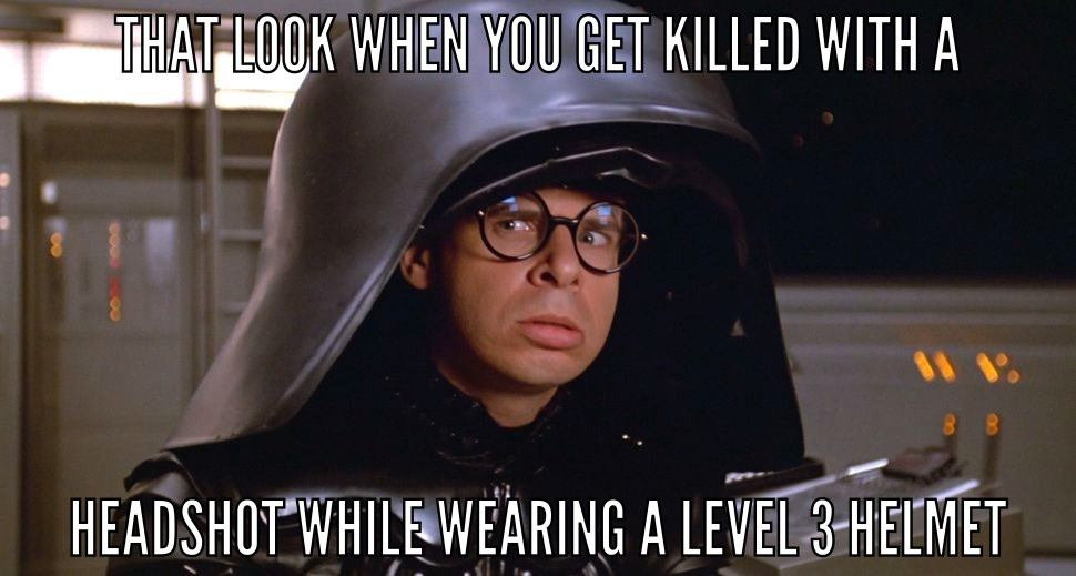 That Look When You Get Killed