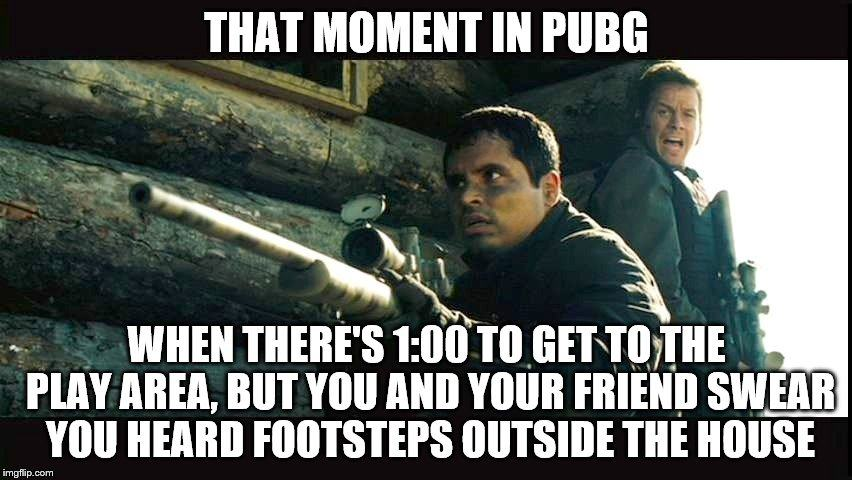 That Moment In PUBG