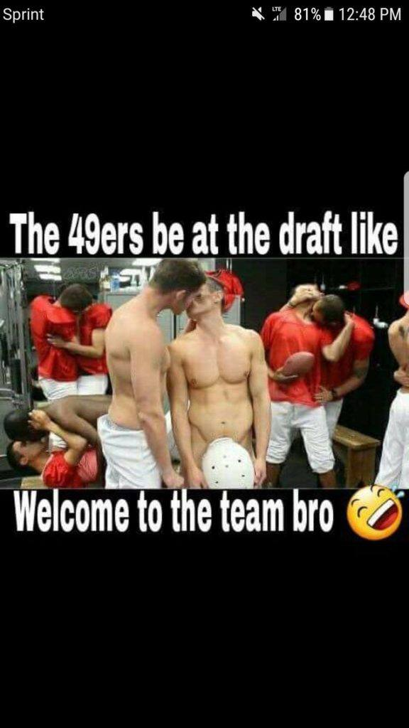 The 49ers Be At Draft