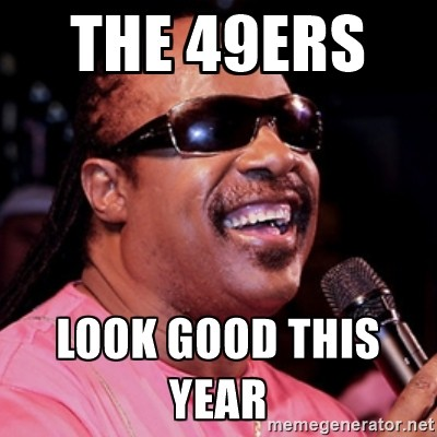 The 49ers Look Good