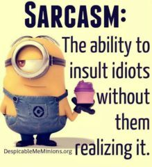 The Ability To Insult
