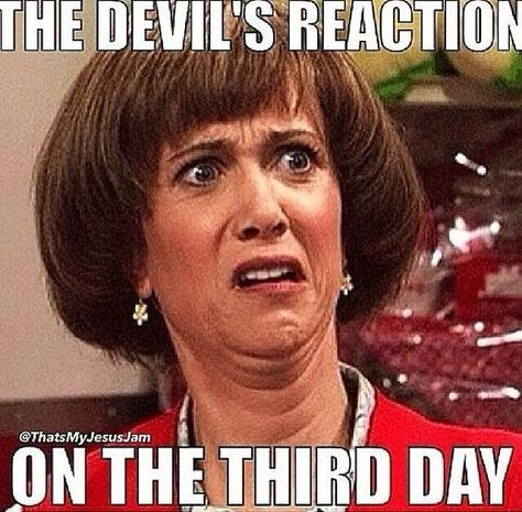 The Devil's Reaction