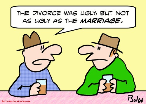 The Divorce Was Ugly