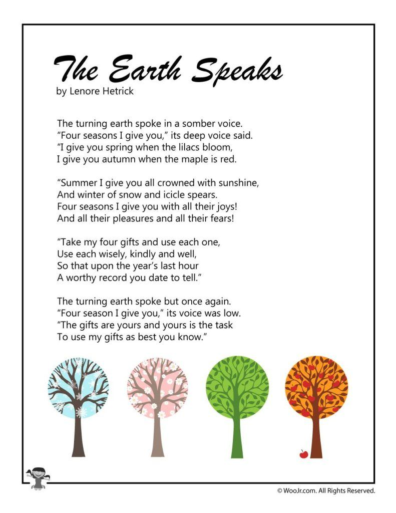 The Earth Speaks
