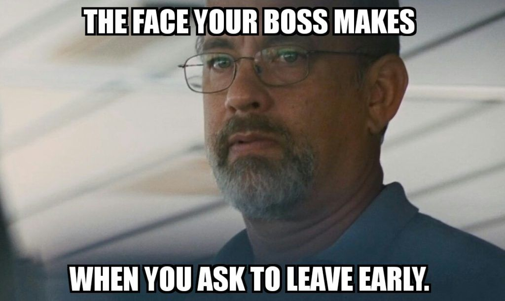 The Face Your Boss Makes
