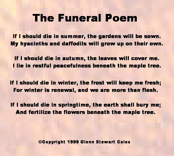 The Funeral Poem