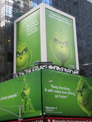 The Grinch Billboard Midtown