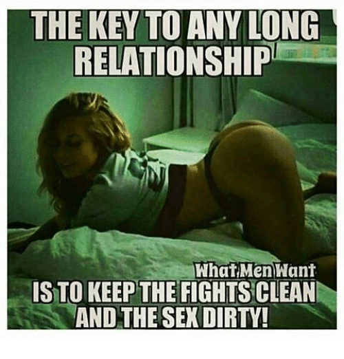 The Key To Any Long Relationship