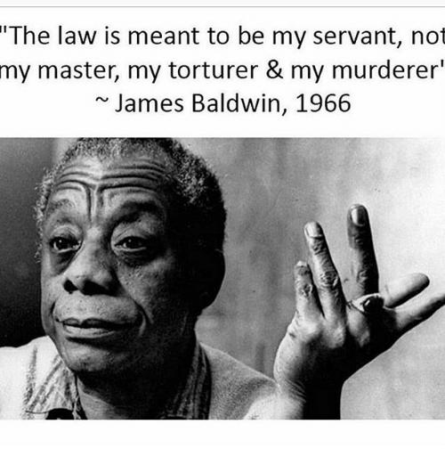 The Law Is Meant To Be My Servant