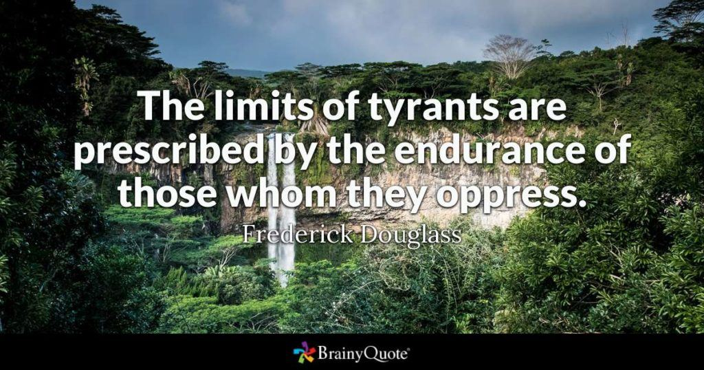 The Limits Of Tyrants