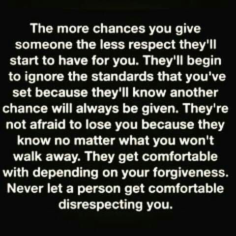 The More Chances You Give