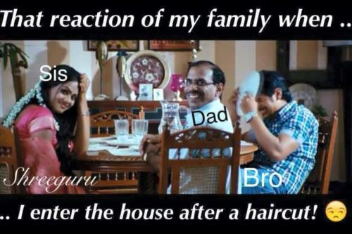 The Reaction Of My Family