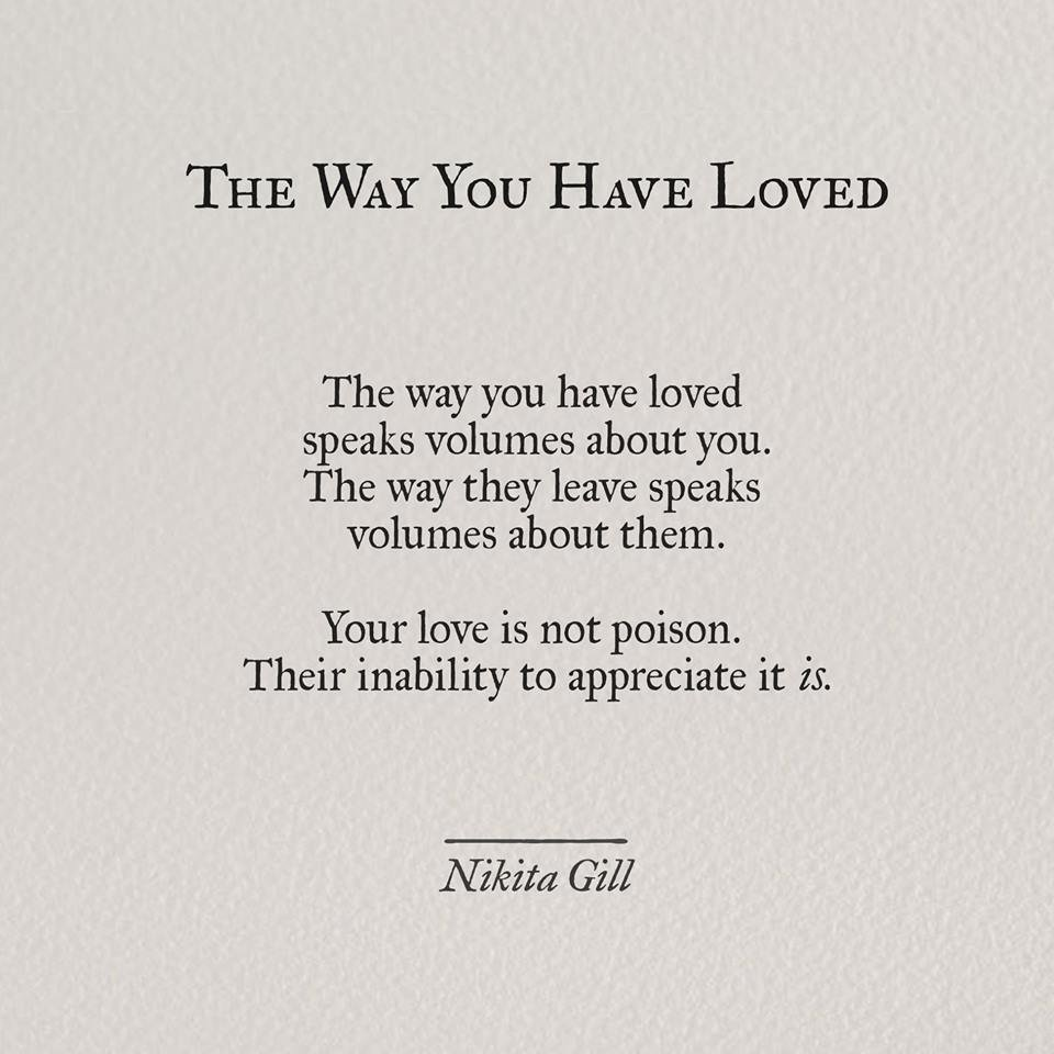 The Way You Have Loved