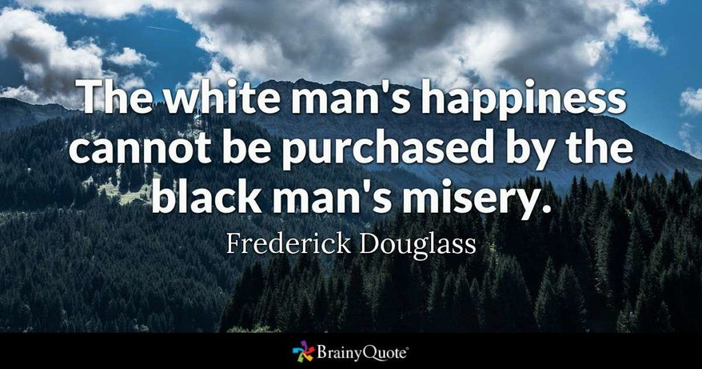 The White Man's Happiness
