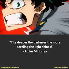 The deeper the darkness