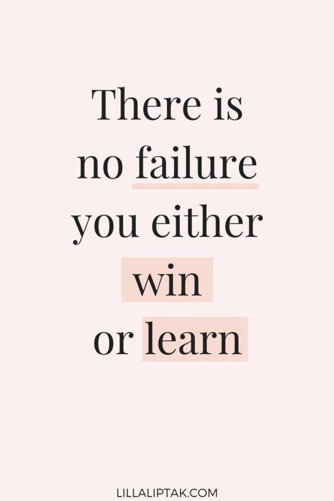 There Is No Failure