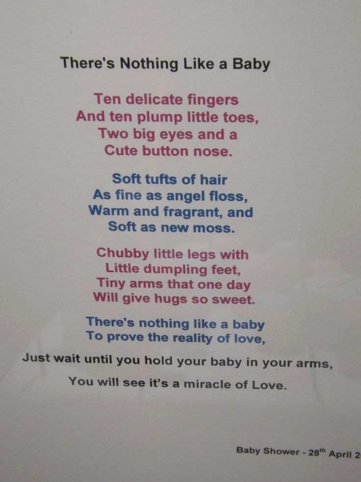There's Nothing Like a Baby
