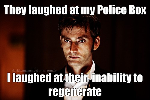 They Laughed At My Police Box