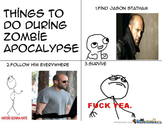 Things To Do During Zombie Apocalypse