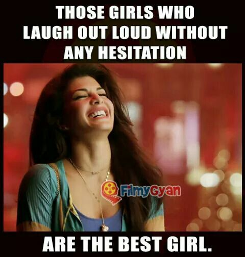 Those Girls Who Laugh