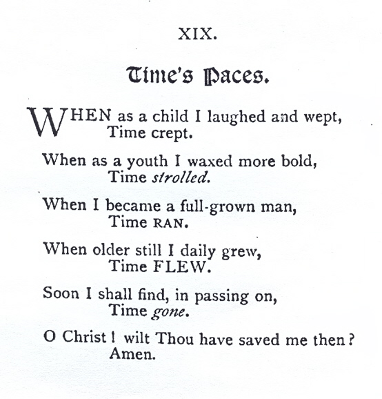 Time's Paces