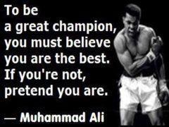 To Be A Great Champion