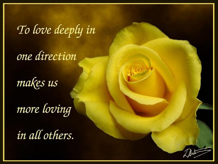 To Love Deeply