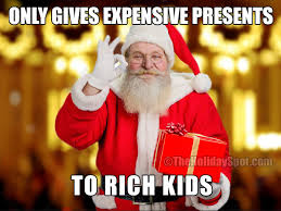 To rich kids