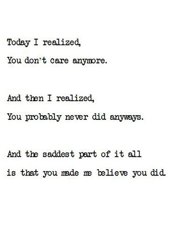 Today I Realize
