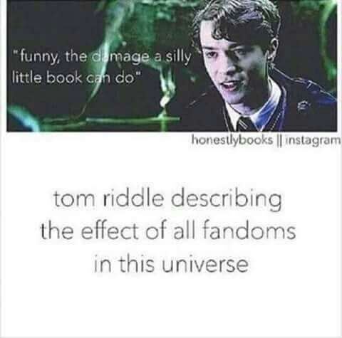 Tom Riddle Describing