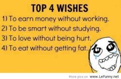 Top 4 Wishes