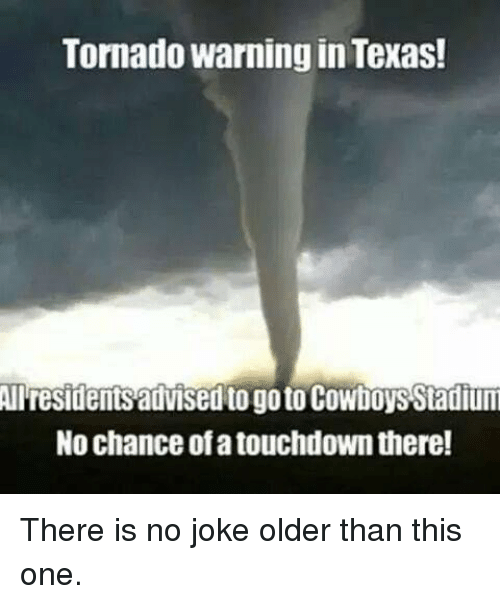 Tornado Warning In Texas