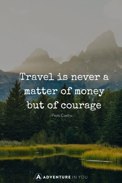 Travel Is Never A Matter