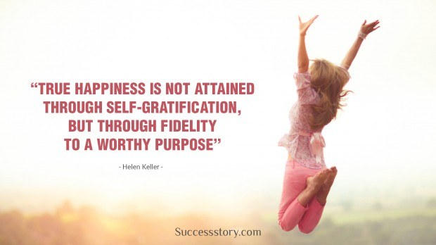 True Happiness Is Not Attained