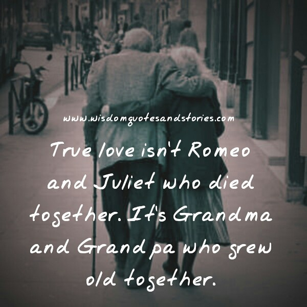 True Love Isn't Romeo And Juliet