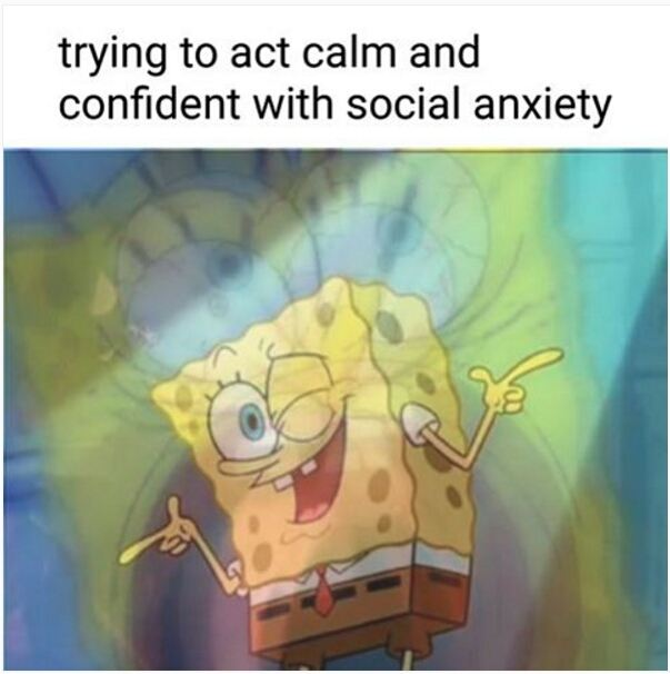Trying To Act Calm