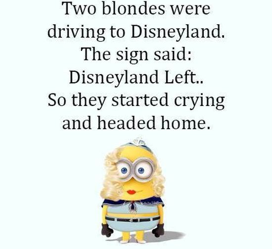 Two Blondes Were Driving